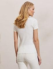 ODD MOLLY - Magda Top - t-shirts - light chalk - 4