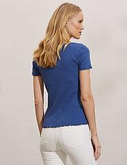 ODD MOLLY - Magda Top - t-shirts - navy - 4