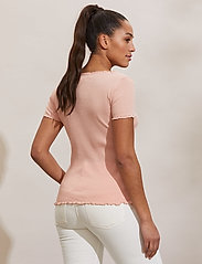 ODD MOLLY - Magda Top - t-shirts - pink conch - 4
