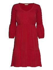 Gloria Dress - CHERRY RED