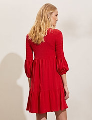 ODD MOLLY - Gloria Dress - hverdagskjoler - cherry red - 3