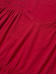 ODD MOLLY - Gloria Dress - hverdagskjoler - cherry red - 4