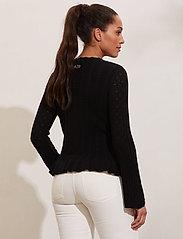 ODD MOLLY - Laura Sweater - sweaters - black - 3