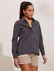 ODD MOLLY - Willow Shirt - long-sleeved shirts - asphalt - 0