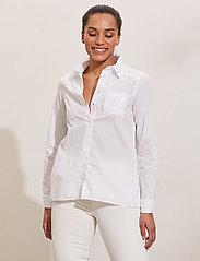 ODD MOLLY - Willow Shirt - langærmede skjorter - bright white - 0
