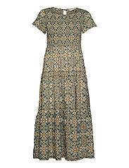 Myrtle Dress - GREEN SLATE