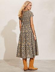 ODD MOLLY - Myrtle Dress - green slate - 3