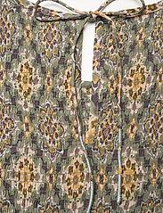ODD MOLLY - Myrtle Dress - green slate - 5