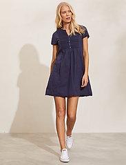 ODD MOLLY - Myrtle Short Dress - sommerkjoler - dark blue - 0