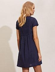 ODD MOLLY - Myrtle Short Dress - sommerkjoler - dark blue - 3