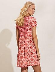ODD MOLLY - Myrtle Short Dress - sommerkjoler - pink fudge - 3