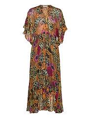 Flora Dress - APRICOT TAN
