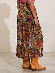 ODD MOLLY - Flora Skirt - maxi nederdele - apricot tan - 3