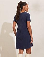 ODD MOLLY - Finest Embroidery Dress - sommerkjoler - dark blue - 3