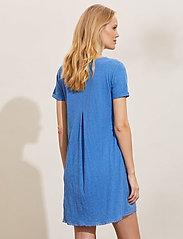ODD MOLLY - Finest Embroidery Dress - sommerkjoler - vivid blue - 4