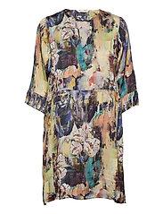 Gaia Tunic Dress - MULTI