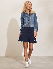 ODD MOLLY - Sweep Away Skirt - korte nederdele - deep navy - 0