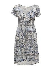 playful short dress - SOFT BLUE