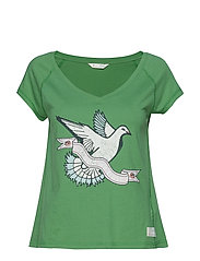 breathe easy t-shirt - GREEN FOREST