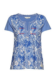 blossom boss top - SUMMER BLUE