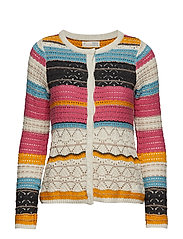 layer lover cardigan - MULTI