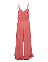 ODD MOLLY - foot loose jumpsuit - haalarit - dusted rouge - 1