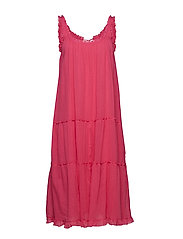 easy steppin' dress - HOT PINK