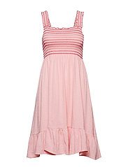 groove romance dress - FLAMINGO