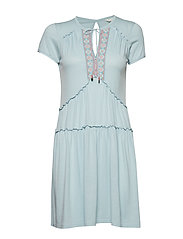 love chimes dress - HORIZON BLUE