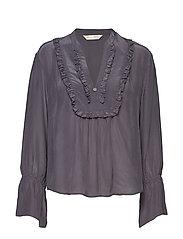 i-escape blouse - ASPHALT