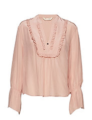 i-escape blouse - POWDER
