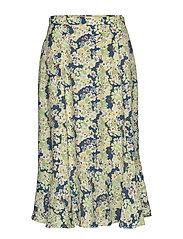 Sorrento Skirt - NIGHT SKY BLUE