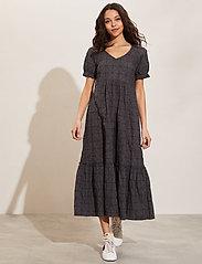 ODD MOLLY - Latrice Dress - sommerkjoler - asphalt - 0