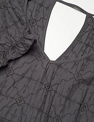 ODD MOLLY - Latrice Dress - sommerkjoler - asphalt - 4