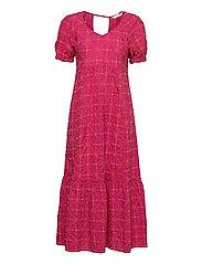 Latrice Dress - BRIGHT FUSCHIA