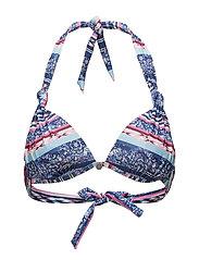 swell sensation bikini top - OCEAN BLUE