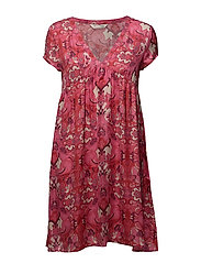 hearth within dress - HOT PINK