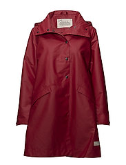outstanding rainjacket - DEEP RED