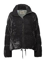 embrace velvet jacket - ASPHALT