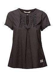dearest s/s blouse - ASPHALT