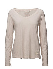well being l/s top - SOFT ROSE