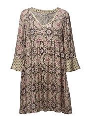 honey-coated dress - PINK PORCELAIN