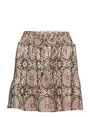 honey-coated skirt - PINK PORCELAIN