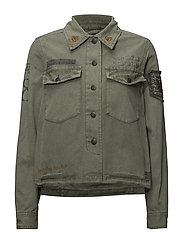 prime time jacket - MISTY GREEN