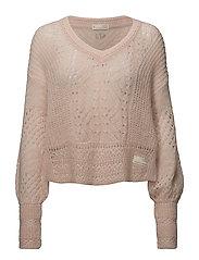 smashing sweater - MISTY ROSE