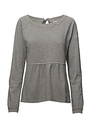 flying high sweater - LIGHT GREY MELANGE