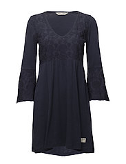 darling dress - DARK BLUE