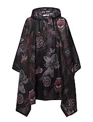 monsoon printed rainponcho - MULTI