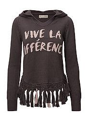 like bomb hood sweater - ORCHID SHADOW