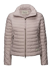 downfall jacket - PINK EARTH